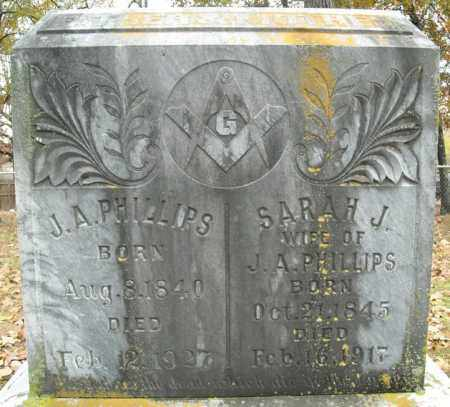 PHILLIPS, SARAH J. - Faulkner County, Arkansas | SARAH J. PHILLIPS - Arkansas Gravestone Photos