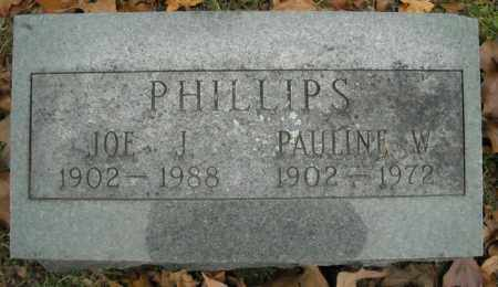 PHILLIPS, JOE J. - Faulkner County, Arkansas | JOE J. PHILLIPS - Arkansas Gravestone Photos