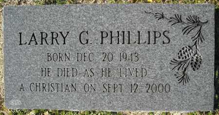 PHILLIPS, LARRY GENE - Faulkner County, Arkansas | LARRY GENE PHILLIPS - Arkansas Gravestone Photos
