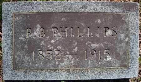 PHILLIPS, R.B. - Faulkner County, Arkansas | R.B. PHILLIPS - Arkansas Gravestone Photos