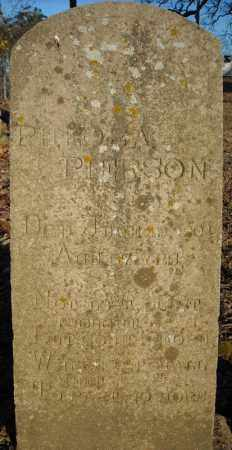 PIERSON, PHEOBA - Faulkner County, Arkansas | PHEOBA PIERSON - Arkansas Gravestone Photos