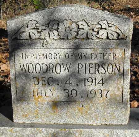 PIERSON, WOODROW - Faulkner County, Arkansas | WOODROW PIERSON - Arkansas Gravestone Photos