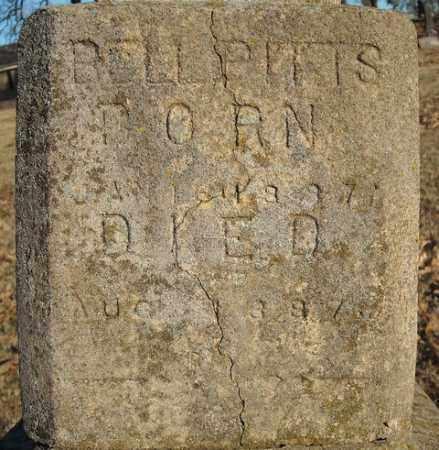 PITTS, BELL (CLOSE UP) - Faulkner County, Arkansas | BELL (CLOSE UP) PITTS - Arkansas Gravestone Photos
