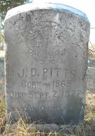 PITTS, J.D. - Faulkner County, Arkansas | J.D. PITTS - Arkansas Gravestone Photos