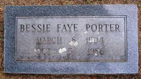PORTER, BESSIE FAYE - Faulkner County, Arkansas | BESSIE FAYE PORTER - Arkansas Gravestone Photos