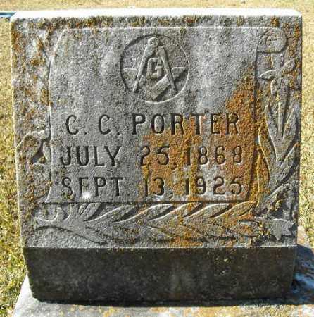 PORTER, C.C. - Faulkner County, Arkansas | C.C. PORTER - Arkansas Gravestone Photos
