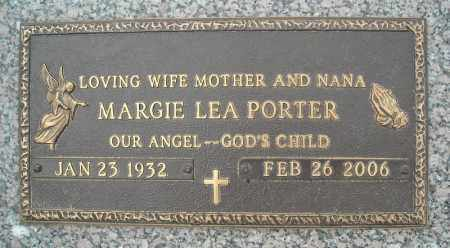 PORTER, MARGIE LEA - Faulkner County, Arkansas | MARGIE LEA PORTER - Arkansas Gravestone Photos