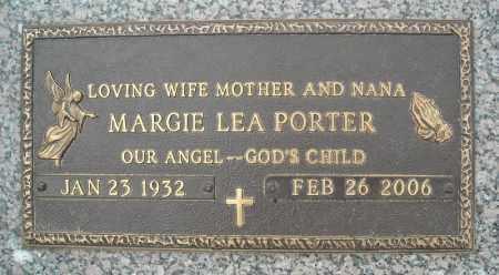 PORTER, MARGIE LEA - Faulkner County, Arkansas   MARGIE LEA PORTER - Arkansas Gravestone Photos