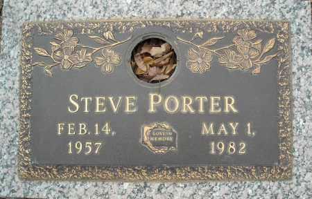 PORTER, STEVE - Faulkner County, Arkansas | STEVE PORTER - Arkansas Gravestone Photos
