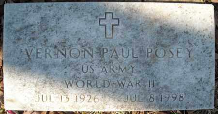 POSEY (VETERAN WWII), VERNON PAUL - Faulkner County, Arkansas | VERNON PAUL POSEY (VETERAN WWII) - Arkansas Gravestone Photos