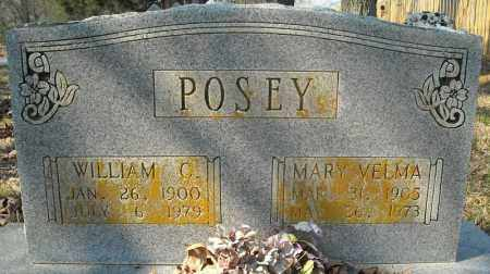 POSEY, WILLIAM C. - Faulkner County, Arkansas | WILLIAM C. POSEY - Arkansas Gravestone Photos