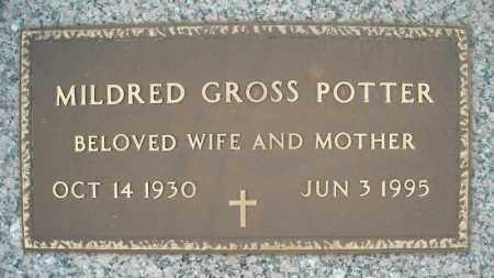 GROSS POTTER, MILDRED - Faulkner County, Arkansas | MILDRED GROSS POTTER - Arkansas Gravestone Photos