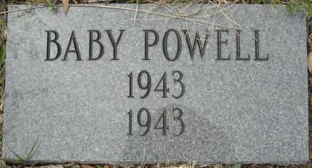 POWELL, BABY - Faulkner County, Arkansas | BABY POWELL - Arkansas Gravestone Photos