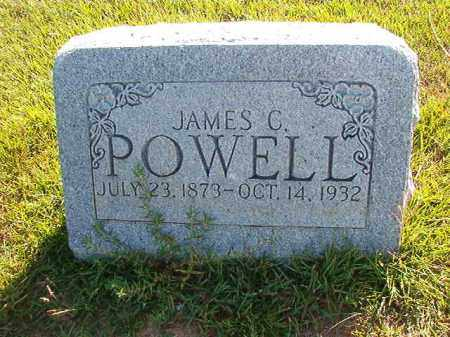 POWELL, JAMES CHILION - Faulkner County, Arkansas | JAMES CHILION POWELL - Arkansas Gravestone Photos