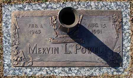 POWELL, MERVIN L. - Faulkner County, Arkansas | MERVIN L. POWELL - Arkansas Gravestone Photos