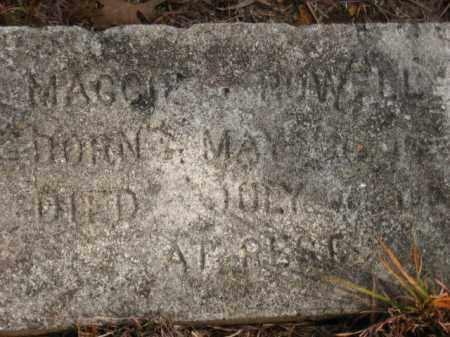 LEA POWELL, MAGGIE - Faulkner County, Arkansas | MAGGIE LEA POWELL - Arkansas Gravestone Photos