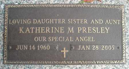 PRESLEY, KATHERINE M. - Faulkner County, Arkansas | KATHERINE M. PRESLEY - Arkansas Gravestone Photos