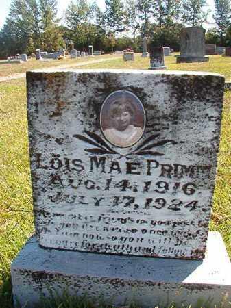 PRIMM, LOIS MAE - Faulkner County, Arkansas | LOIS MAE PRIMM - Arkansas Gravestone Photos