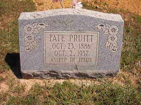 PRUITT, FATE - Faulkner County, Arkansas | FATE PRUITT - Arkansas Gravestone Photos