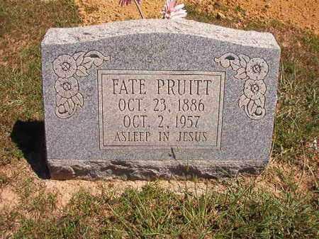 PRUITT, FATE - Faulkner County, Arkansas | FATE PRUITT - Arkansas Gravestone Photos