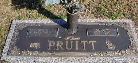 PRUITT, ODA E. - Faulkner County, Arkansas | ODA E. PRUITT - Arkansas Gravestone Photos