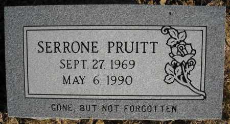 PRUITT, SERRONE - Faulkner County, Arkansas | SERRONE PRUITT - Arkansas Gravestone Photos