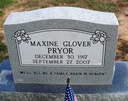 GLOVER PRYOR, MAXINE - Faulkner County, Arkansas | MAXINE GLOVER PRYOR - Arkansas Gravestone Photos