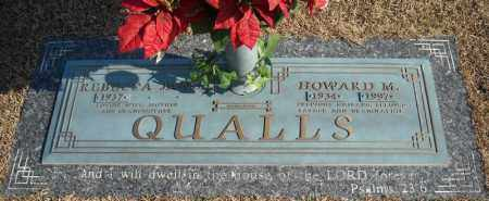 QUALLS, HOWARD M. - Faulkner County, Arkansas | HOWARD M. QUALLS - Arkansas Gravestone Photos