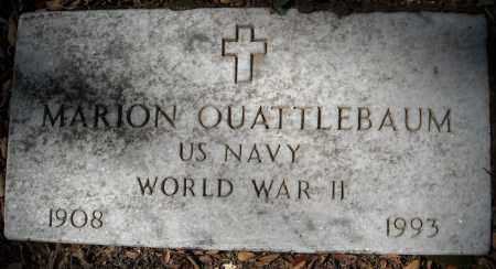 QUATTLEBAUM (VETERAN WWII), MARION - Faulkner County, Arkansas | MARION QUATTLEBAUM (VETERAN WWII) - Arkansas Gravestone Photos