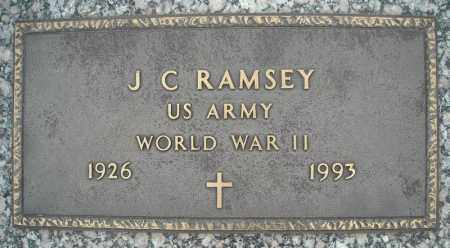 RAMSEY (VETERAN WWII), J C - Faulkner County, Arkansas | J C RAMSEY (VETERAN WWII) - Arkansas Gravestone Photos