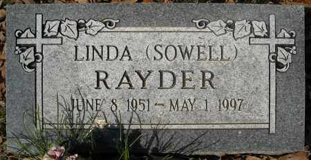 RAYDER, LINDA - Faulkner County, Arkansas | LINDA RAYDER - Arkansas Gravestone Photos