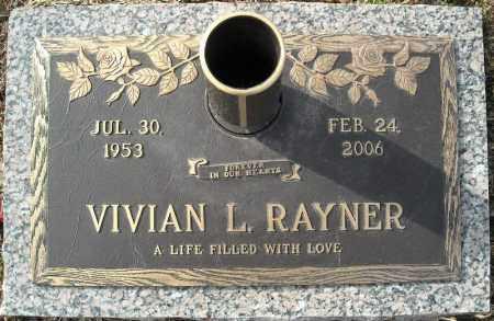 RAYNER, VIVIAN L. - Faulkner County, Arkansas | VIVIAN L. RAYNER - Arkansas Gravestone Photos