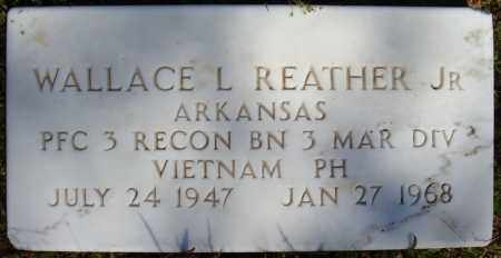 REATHER, JR (VETERAN VIET), WALLACE L - Faulkner County, Arkansas | WALLACE L REATHER, JR (VETERAN VIET) - Arkansas Gravestone Photos
