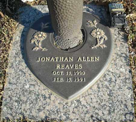 REAVES, JONATHAN ALLEN - Faulkner County, Arkansas | JONATHAN ALLEN REAVES - Arkansas Gravestone Photos
