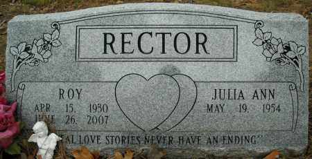 RECTOR, ROY - Faulkner County, Arkansas | ROY RECTOR - Arkansas Gravestone Photos