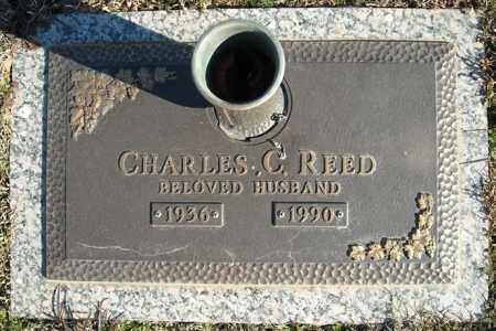REED, CHARLES C. - Faulkner County, Arkansas | CHARLES C. REED - Arkansas Gravestone Photos