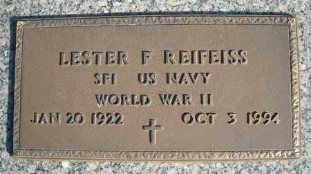 REIFEISS (VETERAN WWII), LESTER F - Faulkner County, Arkansas | LESTER F REIFEISS (VETERAN WWII) - Arkansas Gravestone Photos