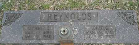 REYNOLDS, LONZO G. - Faulkner County, Arkansas | LONZO G. REYNOLDS - Arkansas Gravestone Photos