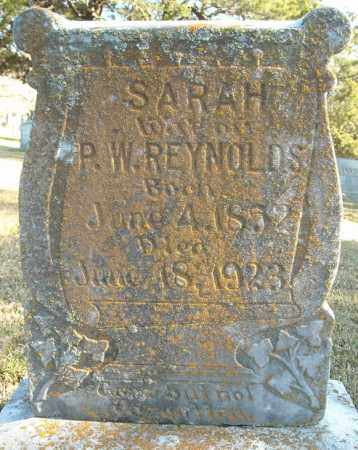 REYNOLDS, SARAH - Faulkner County, Arkansas | SARAH REYNOLDS - Arkansas Gravestone Photos