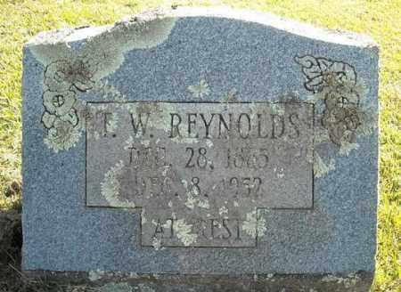 REYNOLDS, T.W. - Faulkner County, Arkansas | T.W. REYNOLDS - Arkansas Gravestone Photos
