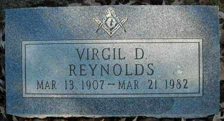 REYNOLDS, VIRGIL D - Faulkner County, Arkansas | VIRGIL D REYNOLDS - Arkansas Gravestone Photos