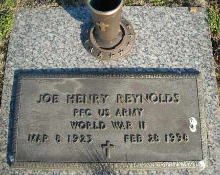 REYNOLDS (VETERAN WWII), JOE HENRY - Faulkner County, Arkansas | JOE HENRY REYNOLDS (VETERAN WWII) - Arkansas Gravestone Photos