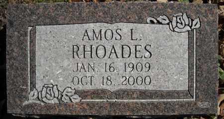 RHOADES, AMOS L. - Faulkner County, Arkansas | AMOS L. RHOADES - Arkansas Gravestone Photos