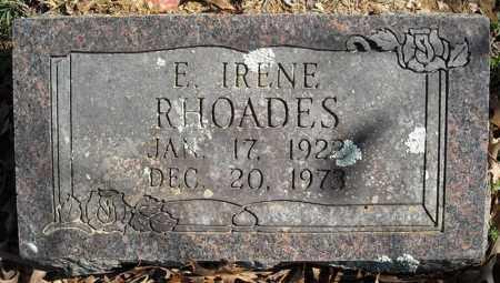 RHOADES, E. IRENE - Faulkner County, Arkansas | E. IRENE RHOADES - Arkansas Gravestone Photos