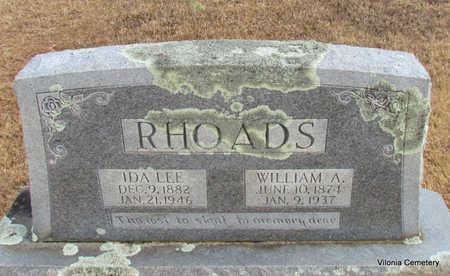 RHOADS, WILLIAM - Faulkner County, Arkansas | WILLIAM RHOADS - Arkansas Gravestone Photos