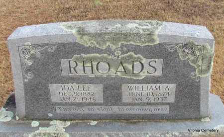RHOADS, WILLIAM A - Faulkner County, Arkansas | WILLIAM A RHOADS - Arkansas Gravestone Photos
