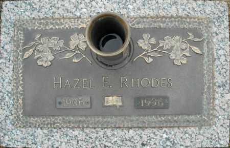 RHODES, HAZEL E. - Faulkner County, Arkansas | HAZEL E. RHODES - Arkansas Gravestone Photos