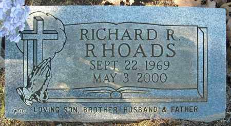 RHODES, RICHARD R. - Faulkner County, Arkansas | RICHARD R. RHODES - Arkansas Gravestone Photos
