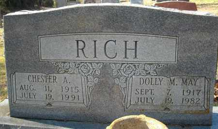 MAY RICH, DOLLY M. - Faulkner County, Arkansas | DOLLY M. MAY RICH - Arkansas Gravestone Photos