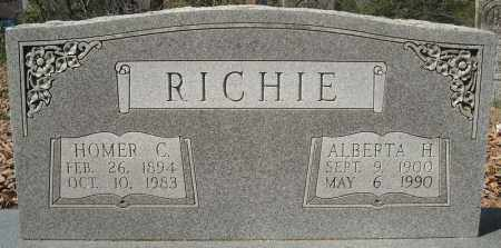 RICHIE, ALBERTA H. - Faulkner County, Arkansas | ALBERTA H. RICHIE - Arkansas Gravestone Photos